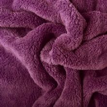 Purple Cuddle Fleece 150cm Wide